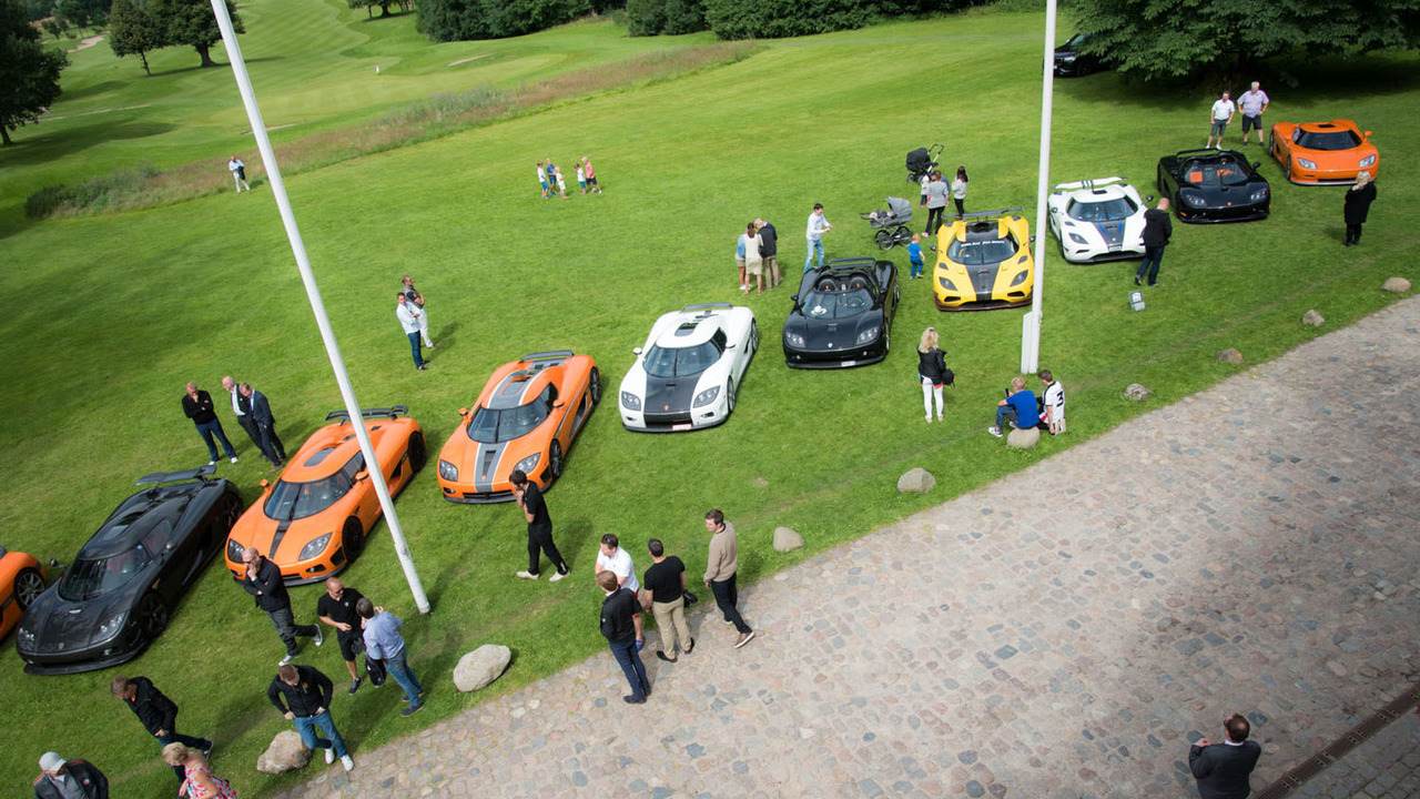 Koenigsegg Owners Event