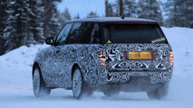 Range Rover plug-in hybrid spotted