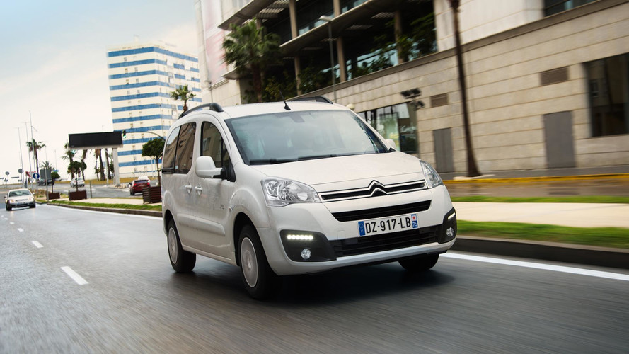 Le Citroën Berlingo Multispace passe à l'électrique