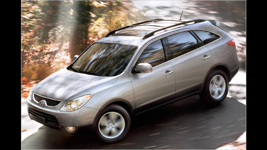 Luxury Utility Vehicle Hyundai Veracruz soll Trends setzen