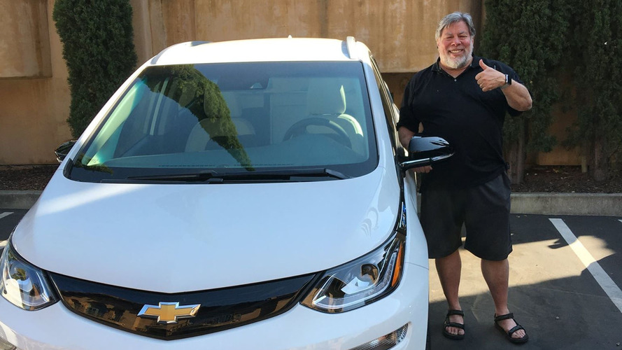 Steve Wozniak finally bought a Chevy Bolt