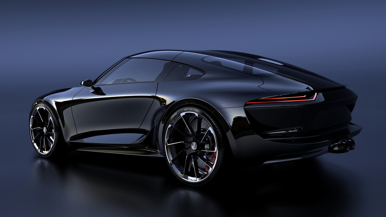 Bugatti Chiron designer re-imagines the Porsche 911