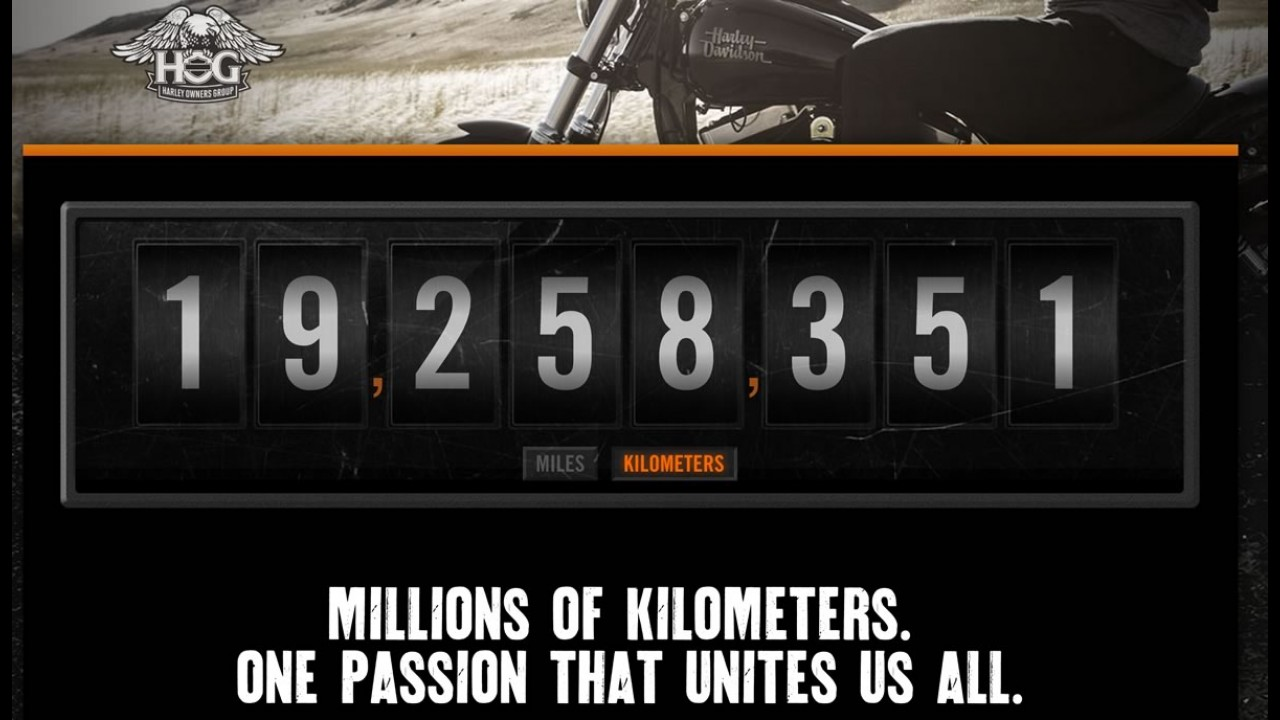 Passeio mundial da Harley-Davidson soma 19 milhões de km rodados
