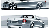 Holden VE Ute design sketches
