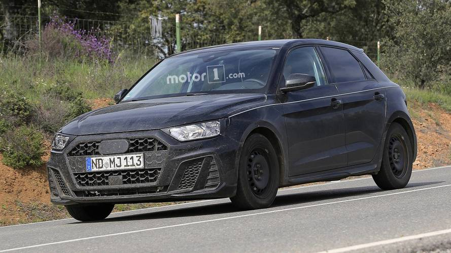 2019 audi a1 spied almost completely undisguised. Black Bedroom Furniture Sets. Home Design Ideas