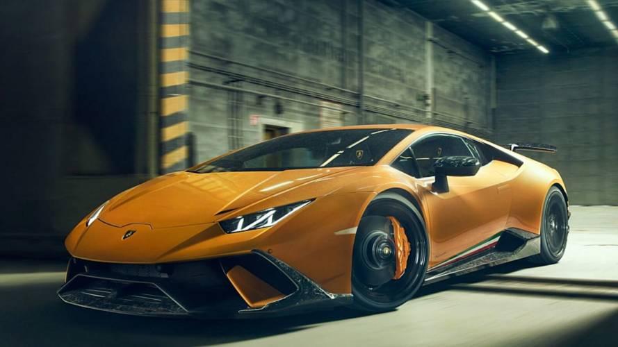 Novitec'ten Lamborghini Huracan Performante