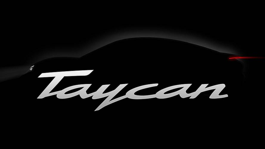 Bound Porsche Mission E christened Porsche Taycan