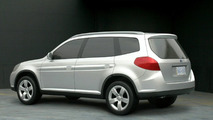 Potential 2009 Subaru Forester design