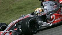Lewis Hamilton in McLaren Mercedes F1