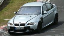 BMW M3 Sedan spy photo
