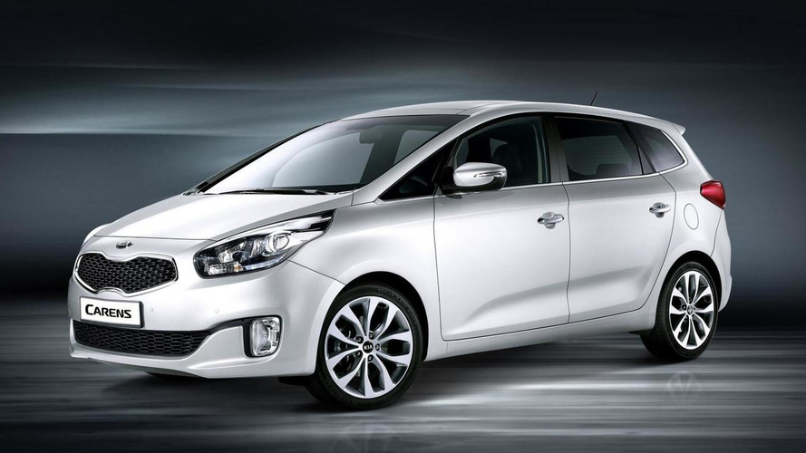 2013 Kia Carens to debut in Paris