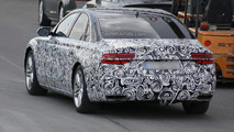 2015 Audi A8 facelift spy photo 16.4.2013