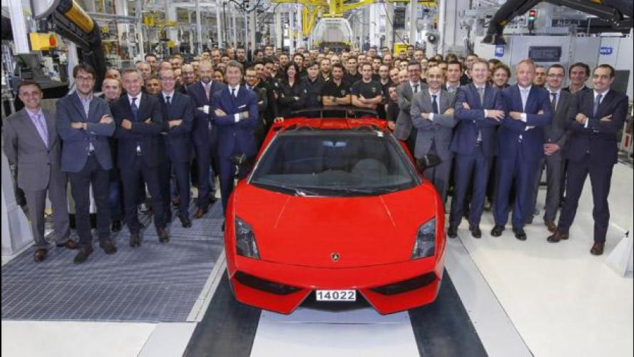 Lamborghini Gallardo, addio!