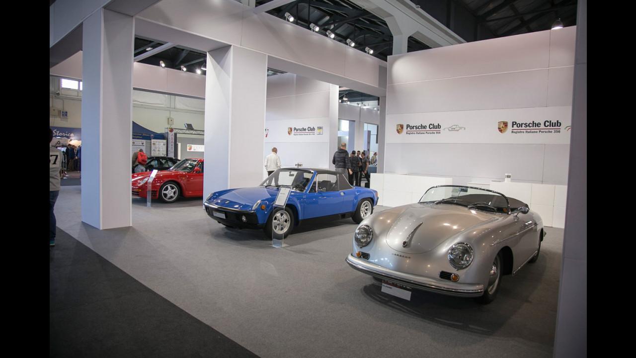 Porsche ad Auto e Moto d'Epoca 2015