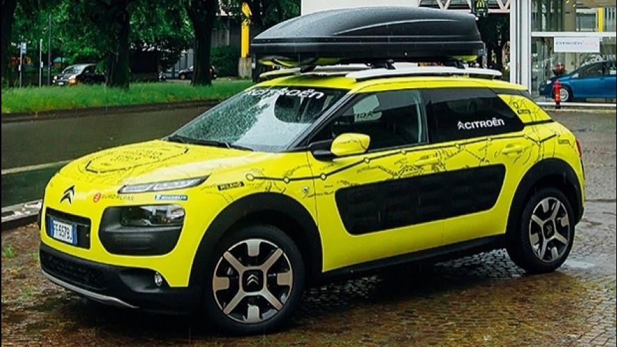 Citroën C4 Cactus, da Milano alla Cina in 40 giorni
