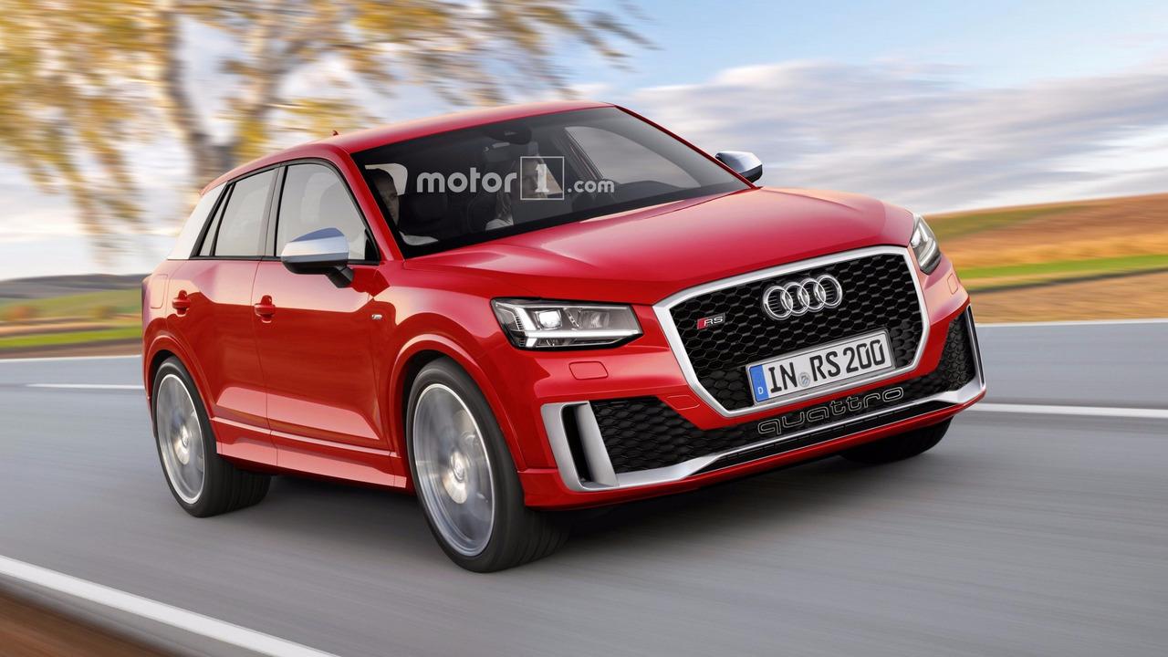 Audi RS Q2 tasarım çalışması