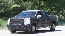 GMC Sierra 1500 Spy Photos
