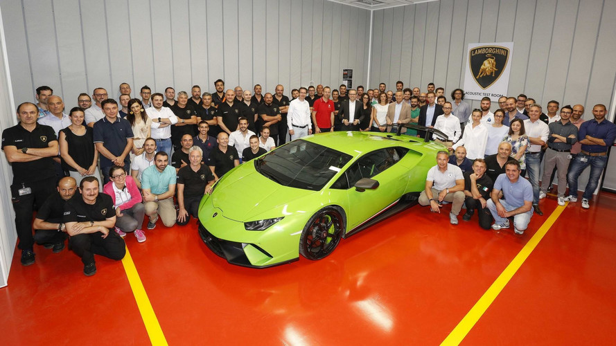 Lamborghini Opens Acoustic Test Room To Fine-Tune Soundtrack