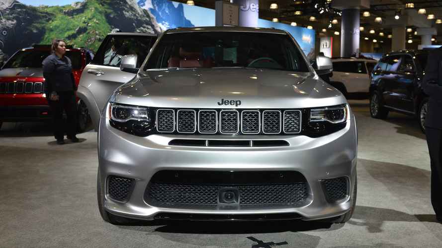 2018 Jeep Grand Cherokee Trackhawk New York 2017 Photo