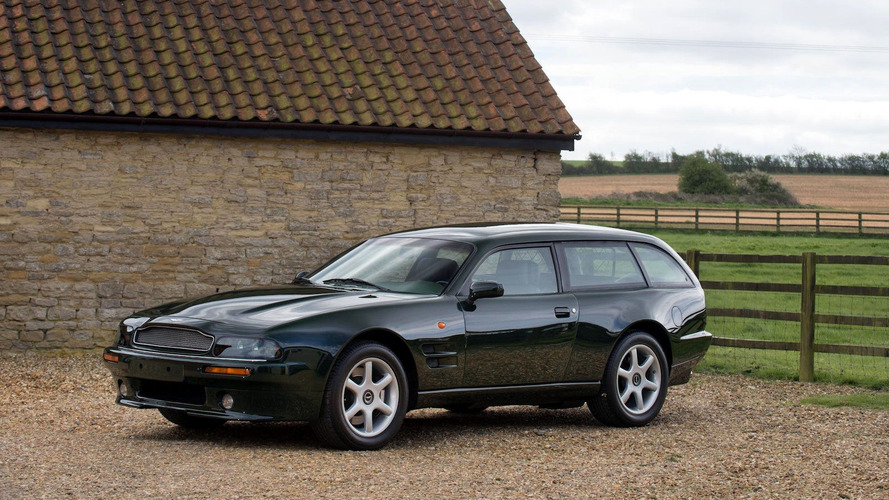 Rare 1996 Aston Martin V8 Estate Is Better Than Any SUV