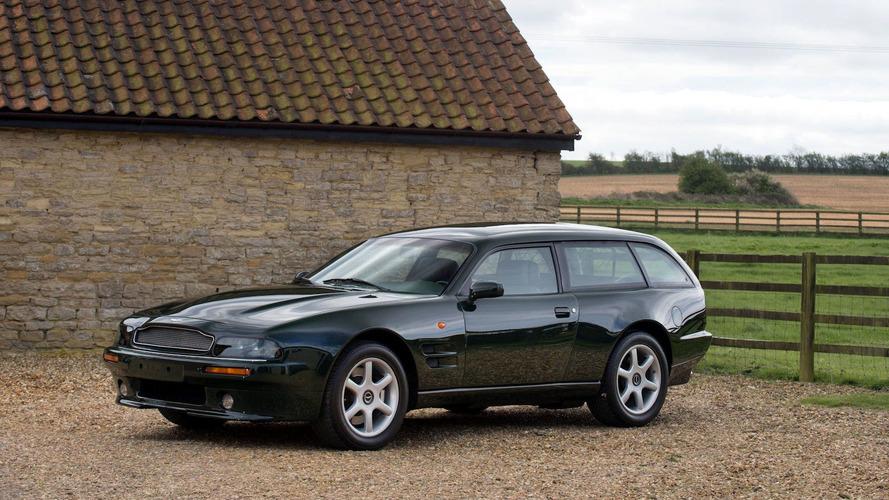 Rare 1996 Aston Martin V8 Estate Is Practically Perfect