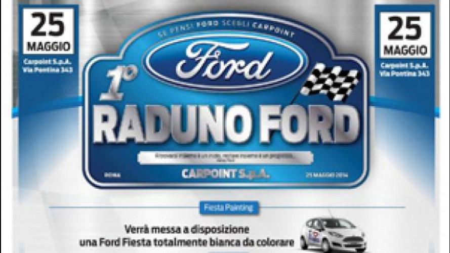 Ford organizza il primo grande raduno nazionale a Roma