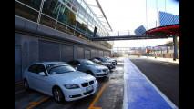 BMW Efficient Dynamics sul circuito di Monza