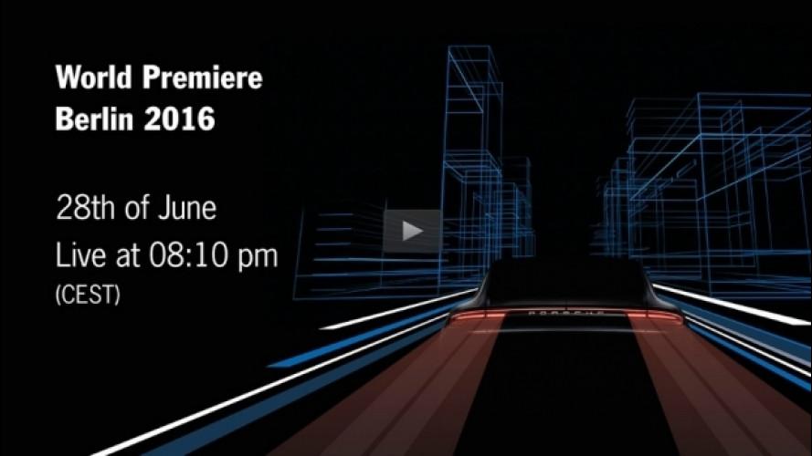 Nuova Porsche Panamera, in diretta streaming [VIDEO]