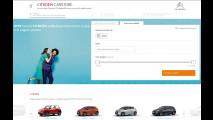 Citroen, i servizi online