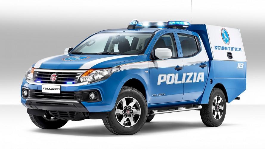 Sulla scena del crimine arriva Fiat Fullback