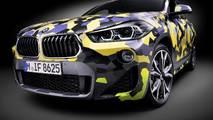 BMW X2 with digital camo
