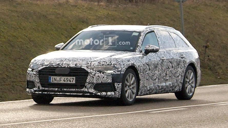2018 Audi A6 Avant spy photos