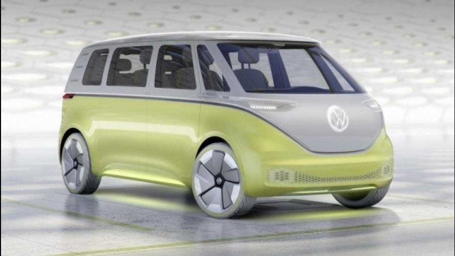 Volkswagen ID Buzz showcar, il Bulli del nuovo Millennio