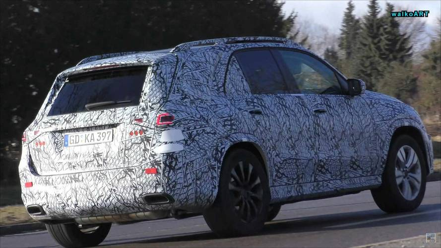Mercedes-AMG GLE 53 And 63 Spy Shots