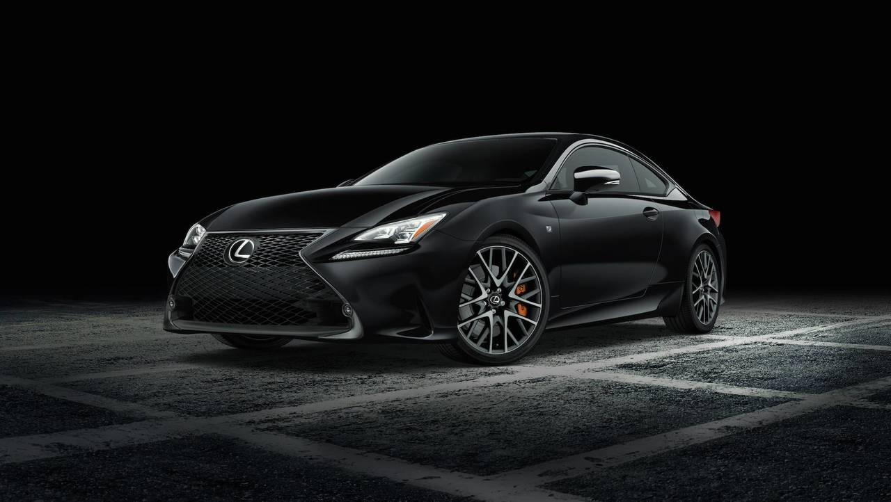 Lexus RC F Sport Black Line Edition
