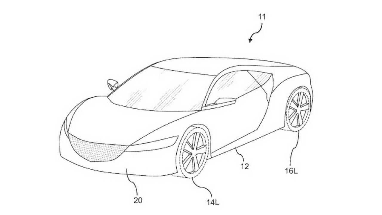 Honda Airdam Patent