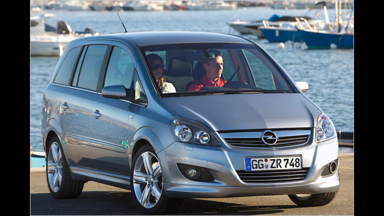 Opel Zafira 1.7 CDTI ecoFlex DPF