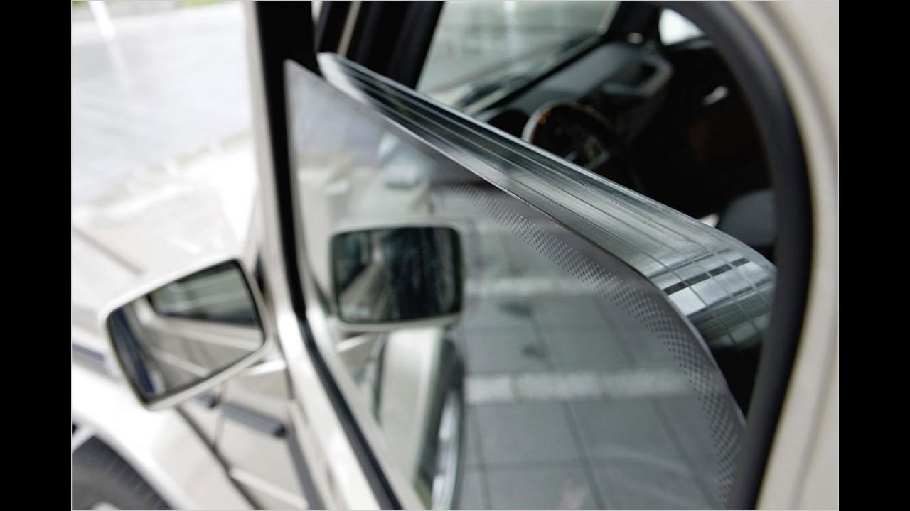 Mercedes-Guard-Entwicklung