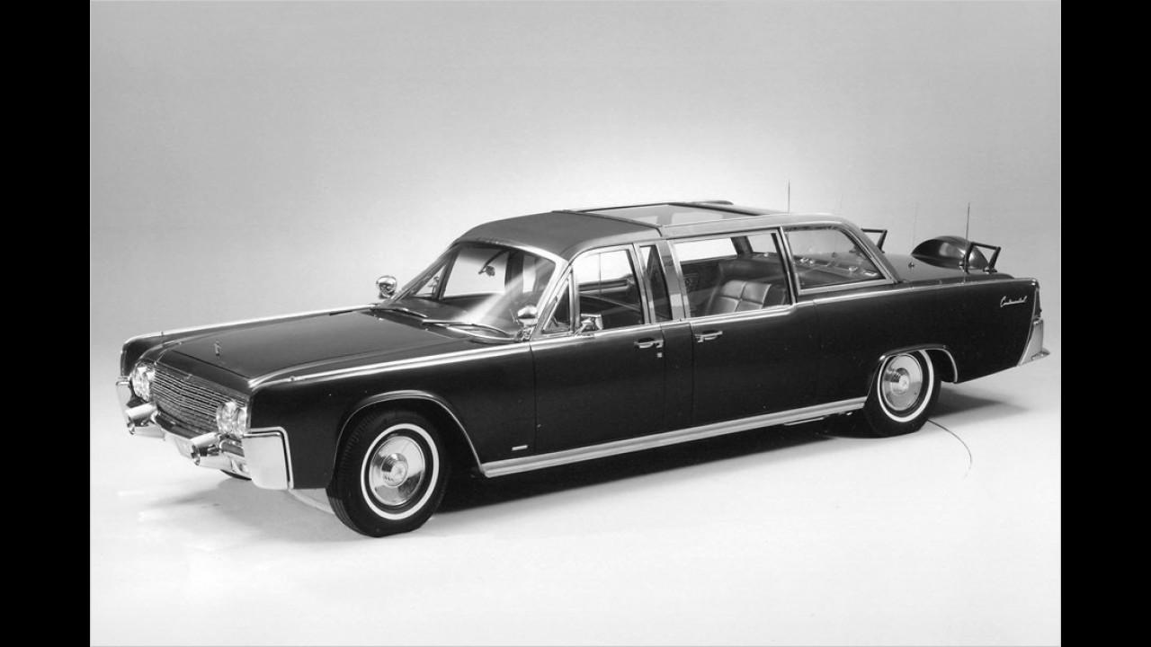 Und noch ein Lincoln: Dieses Modell von 1964 diente Kennedys Nachfolger im Präsidentenamt, Lyndon B. Johnson.