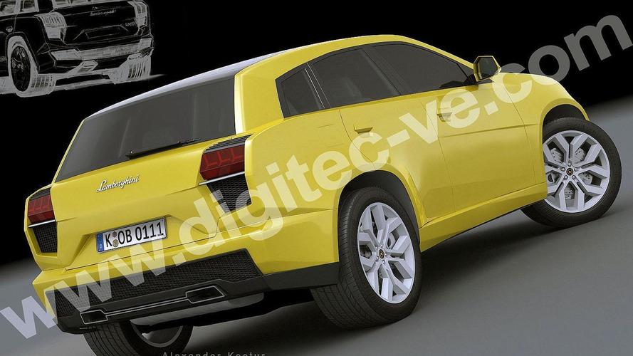 Lamborghini crossover gets rendered