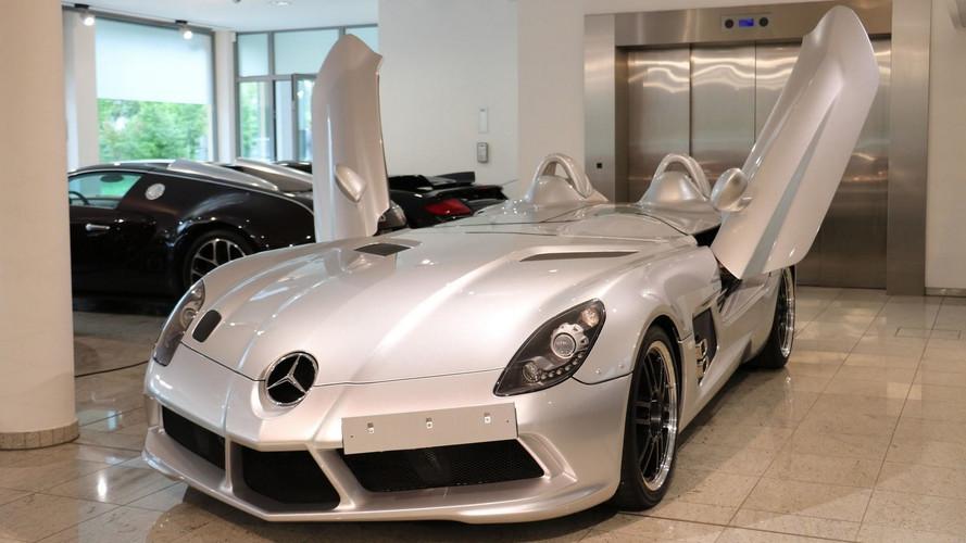 Cette très rare Mercedes SLR Stirling Moss est à vendre !