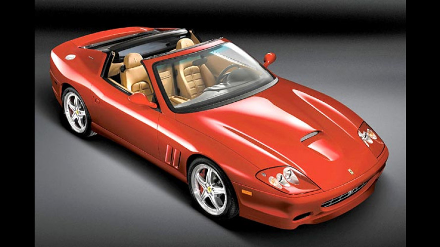 Ferrari Superamerica: Roter Renner bekommt Glasdach
