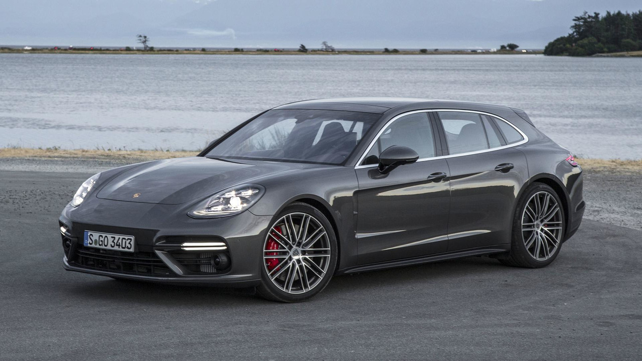 2018 Porsche Panamera Sport Turismo First Drive on mustang with viper engine