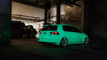 Volkswagen Golf VII Light-Tron by Low-Car-Scene and BlackBox-Richter