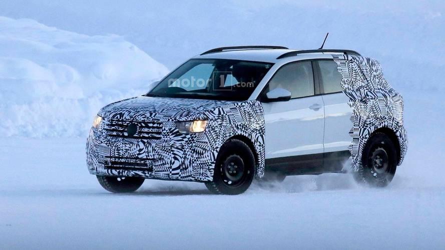 Volkswagen T-Cross 2018: fotos espía durante las pruebas de invierno