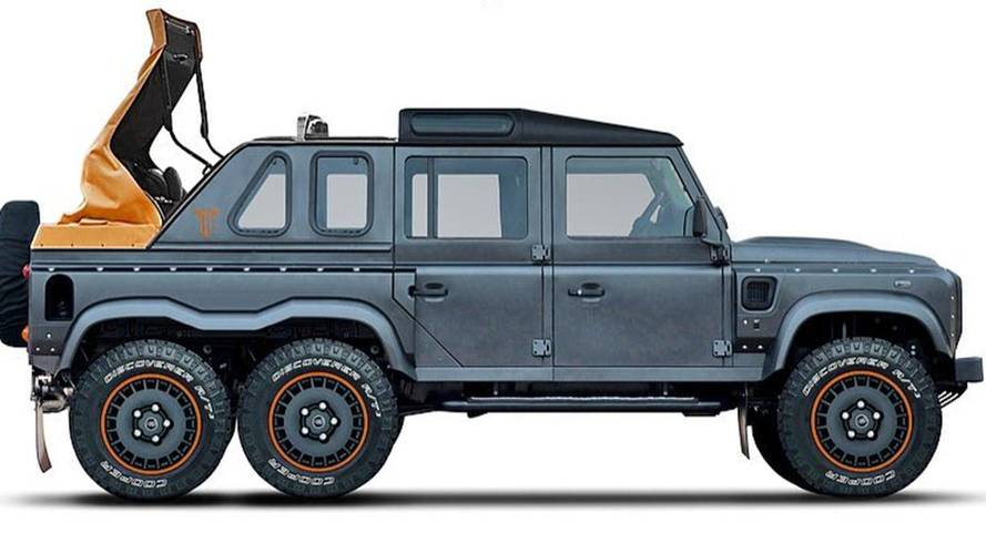 Kahn Turning Land Rover Defender Into Mercedes G650 Landaulet Rival