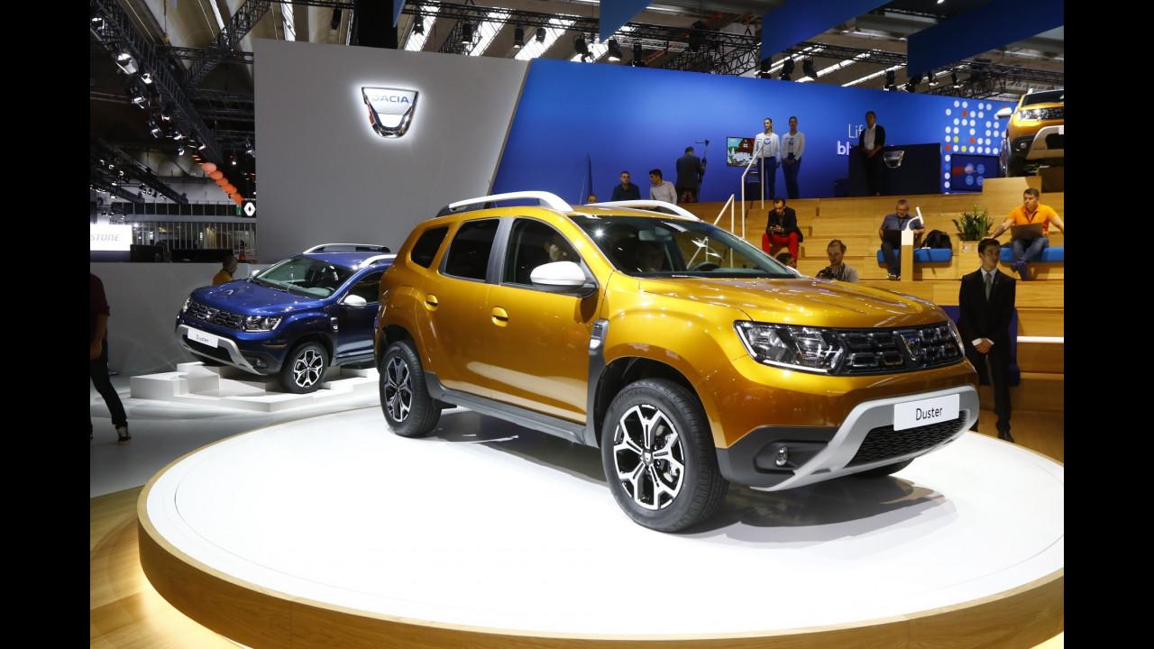 Dacia al Salone di Francoforte 2017