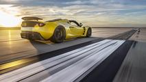 Hennessey Venom GT Spyder world record