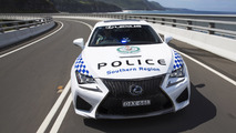 NSW Polisi'nin yeni aracı Lexus RC F