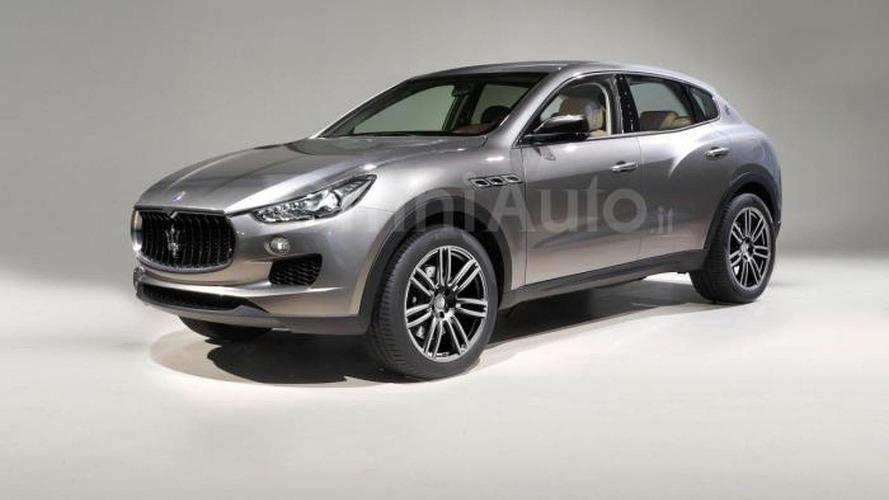 Maserati Levante render looks like a real image